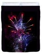 Purple Crown Duvet Cover