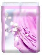Purple Delight. Natural Watercolor Duvet Cover