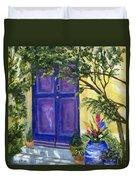 Purple Door Duvet Cover