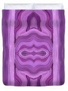 Purple Dreams Pattern Duvet Cover