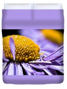 Purple Drop Duvet Cover