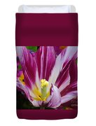 Purple Dual Coloured Tulip Duvet Cover