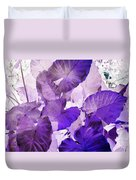 Purple Elephants Duvet Cover
