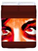 Purple Eyes - Marcello Cicchini Duvet Cover