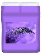 Purple Flight Duvet Cover