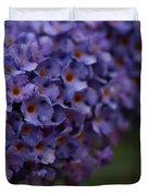 Purple Flowers 1 Duvet Cover