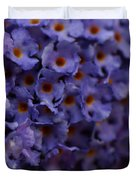 Purple Flowers 2 Duvet Cover