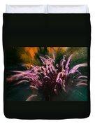 Purple Fountain Grass Fantasy Duvet Cover