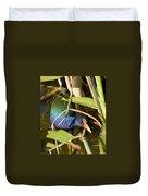Purple Gallinule Duvet Cover