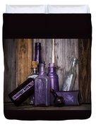 Purple Glass Duvet Cover