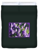 Purple Grape Hyacinth  Duvet Cover