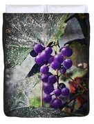 Purple Grapes - Oil Effect Duvet Cover