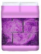 Purple Heart Duvet Cover