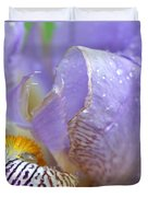 Purple Iris - 3 Duvet Cover