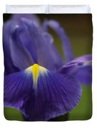 Purple Iris 6 Duvet Cover
