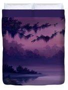 Purple Jungle Duvet Cover