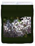 Purple Lilacs II Duvet Cover