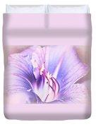 Purple Lily  Duvet Cover