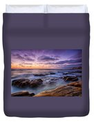 Purple Majesty No Mountain Duvet Cover