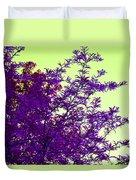 Purple Morning Duvet Cover