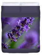 Purple Nature - Lavender Lavandula Duvet Cover