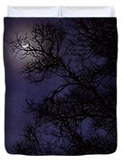 Purple Nights Duvet Cover