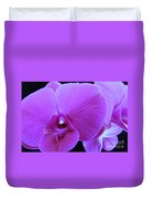 Purple Orchid 7 Duvet Cover