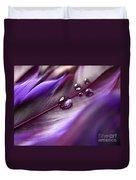 Purple Paradise Duvet Cover