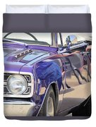 Purple Passion Classic Duvet Cover