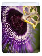 Purple Passion Flower Duvet Cover