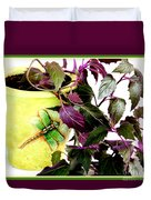 Purple Passion In The Sunshine Duvet Cover