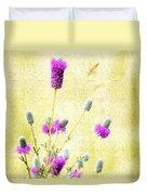 Purple Passion Texture Duvet Cover