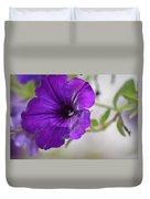 Purple Petunia 2013 Duvet Cover