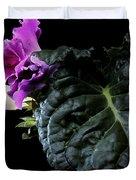 Purple Plant Duvet Cover