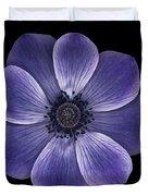 Purple Poppy Duvet Cover