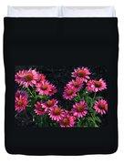 Purple Pow Echinacea  Duvet Cover