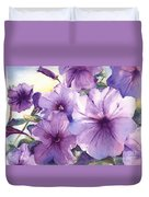 Purple Profusion Duvet Cover