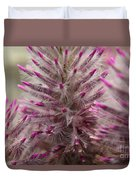 Purple Spike Duvet Cover