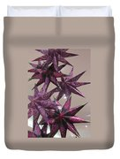Purple Star Duvet Cover