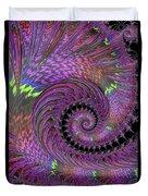 Purple Swirl Duvet Cover