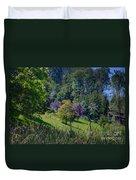 Purple Trees Duvet Cover