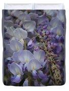 Purple Vine Duvet Cover