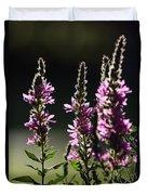 Purple Wild Flowers - 1 Duvet Cover
