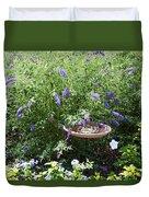 Purple Wild Flowers 1 Duvet Cover