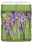 Purple Wild Flowers3 Duvet Cover
