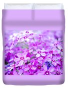 Purple Wildflower Duvet Cover