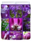 Purple Window Duvet Cover