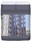 Purple Windows Duvet Cover