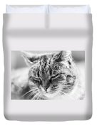 Purring Cat Duvet Cover