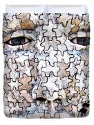 Puzzled Man No2 Duvet Cover